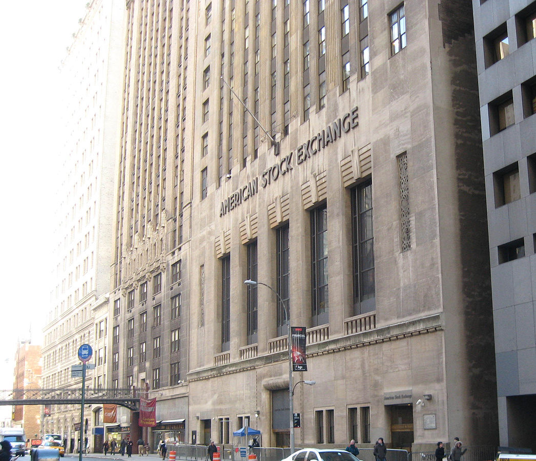 Former home of the American Stock Exchange before it Merged with the New York Stock Exchange