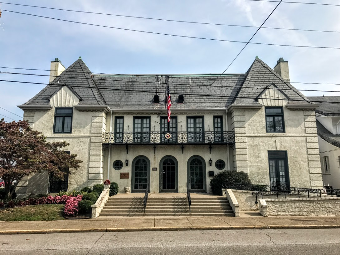The Woman's Club as it appears today. Photo by Kyle Warmack.