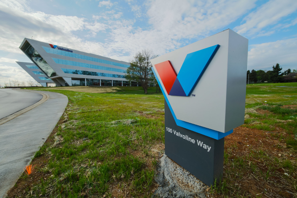 The Valvoline World Headquarters was created on the premise that the corporation goes international and expands overseas.