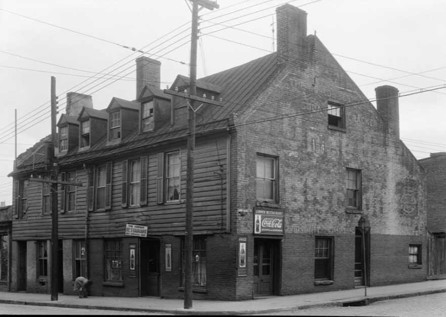 Golden Ball Tavern, undated, likely early 1940s