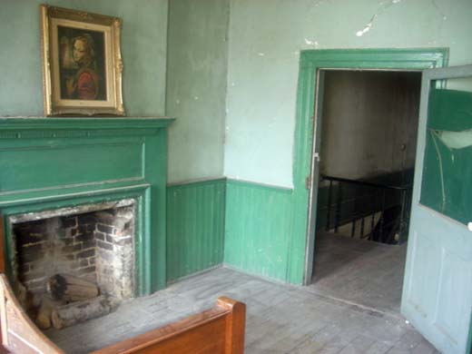 Hiram Haynes Coffee House, upstairs room remains largely untouched since Poe's visit in 1836