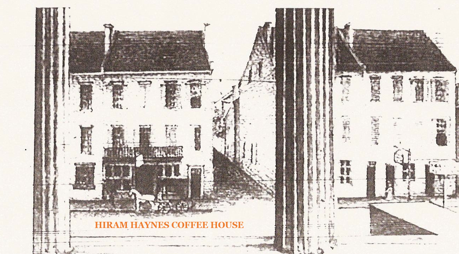 Hiram Haines Coffee Shop from The Exchange Building