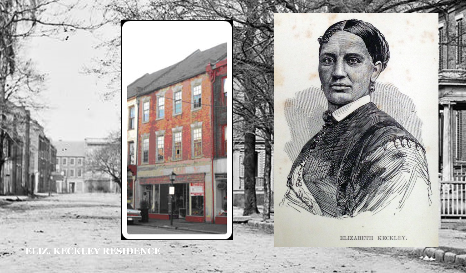 Elizabeth Keckley residence in 1844 while slave to Garland Family