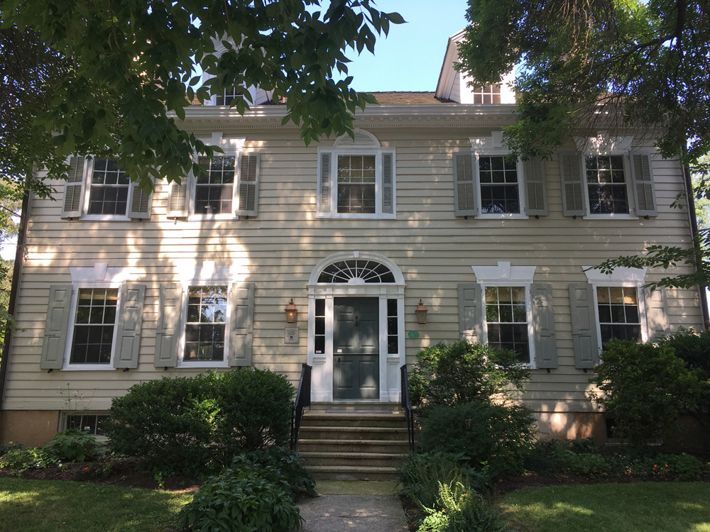 Beatty House in Princeton, from PrincetonHistory.org