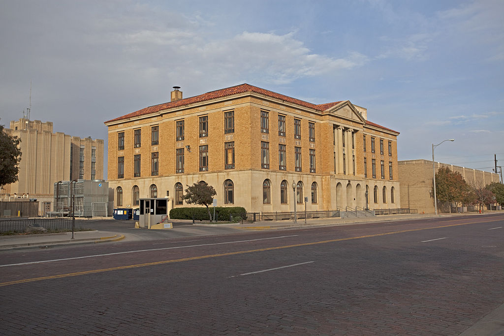 The Lubbock Post Office and Federal Building was built in 1932.
