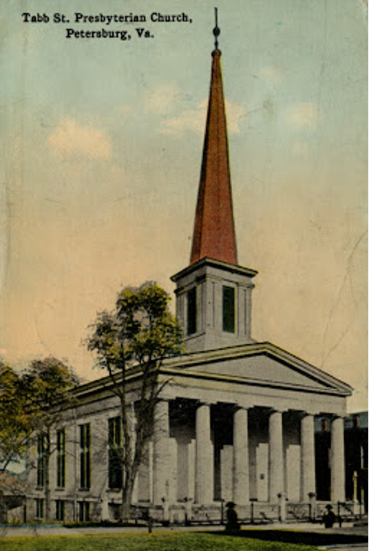 Tabb Street Presbyterian with Steeple