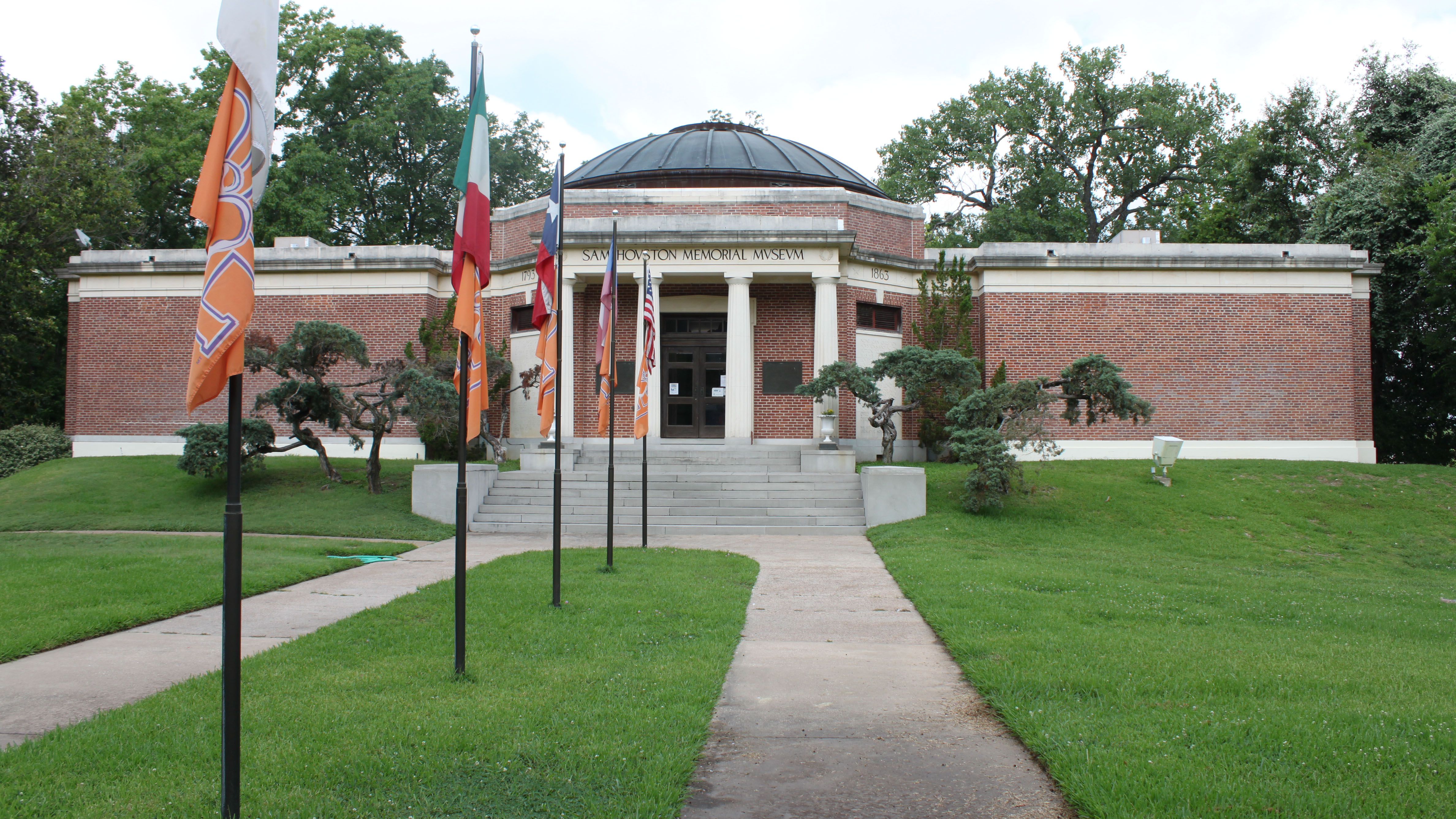 "Known as ""The Rotunda,"" the Sam Houston Memorial Museum features exhibits that explore Houston's life and legacy and the history of the region from the Republic of Texas to the Civil War."