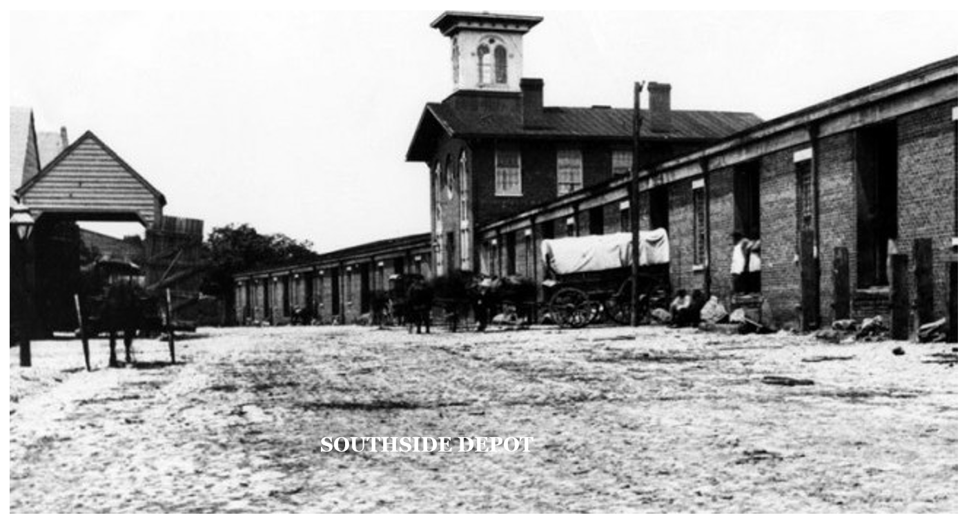 South Side Depot, historical photo