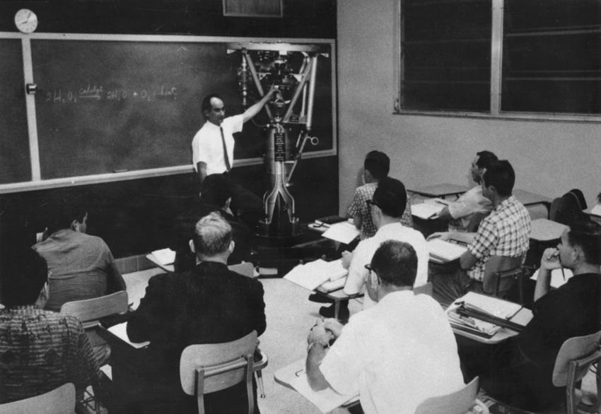 Rocket Propulsion Class 1961