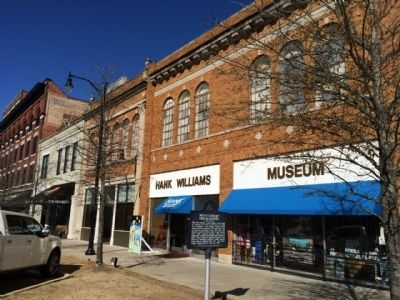 The Hank Williams Museum opened in 1999.