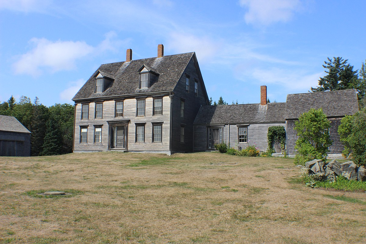 The starkness of the Olson House inspired Andrew Wyeth on numerous occasions.