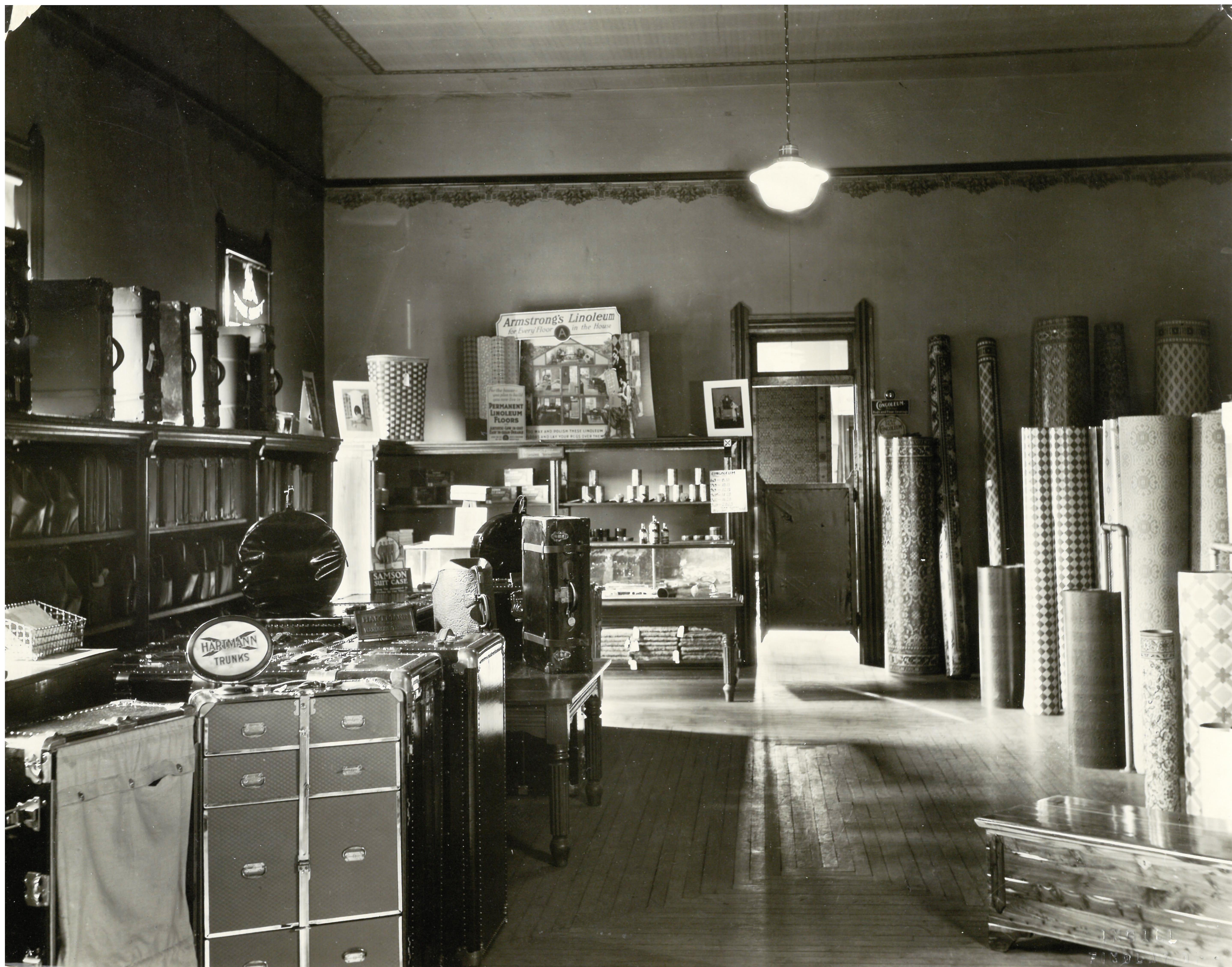 Interior of Patterson's Department Store c1920