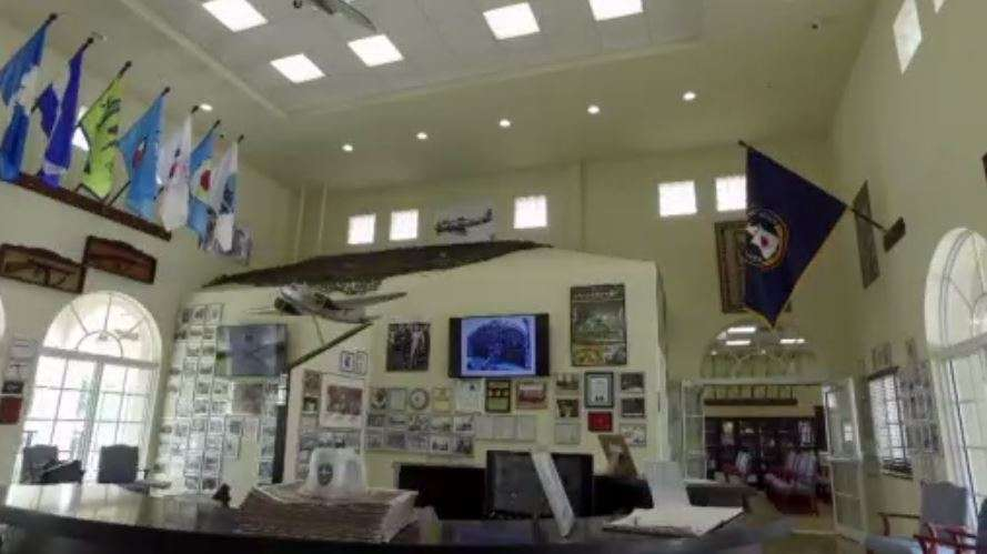Interior of the Museum.