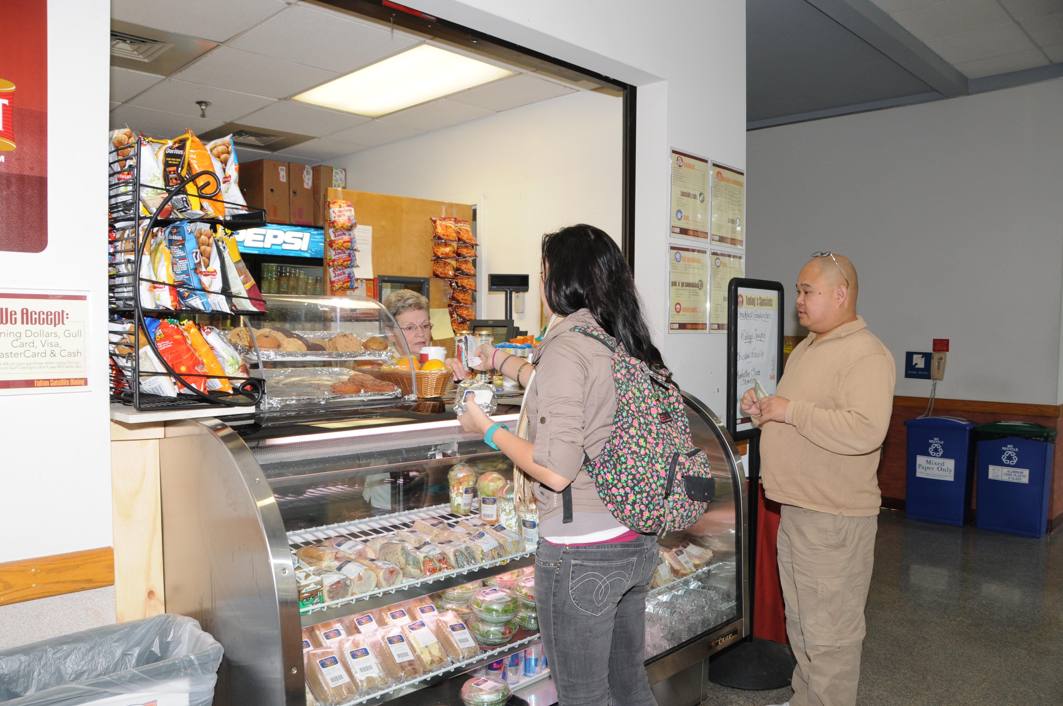 Snackbar at Fulton Hall, 2010