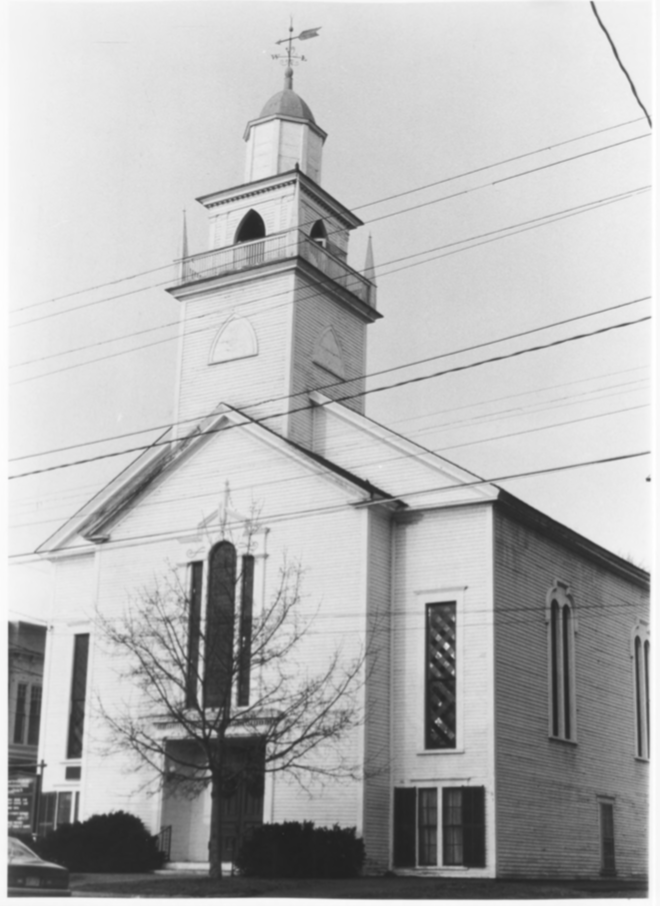 Northfield-Tilton Congregational Church by Roger P. Akeley on December 15, 1982