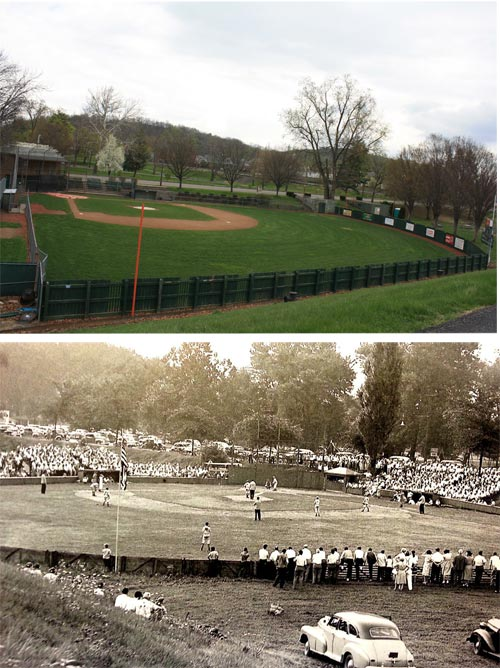 Original Little League Field (Past and Present)