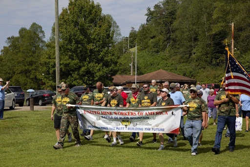 UMWA members commemorate the Battle of Blair Mountain (2019)