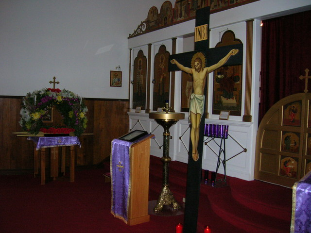 Front of Nave