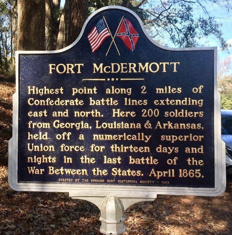 Historical Marker in Alabama Baldwin County