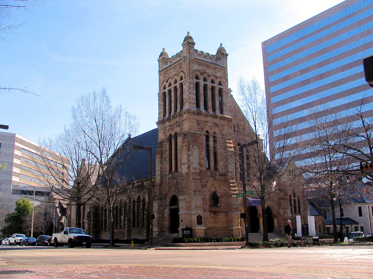 The Cathedral Church of the Advent was built in 1885 and is one of the oldest buildings in the city.