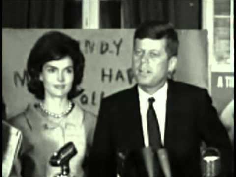 Senator John F. Kennedy's victory speech at the Kanawha Hotel, May 11, 1960