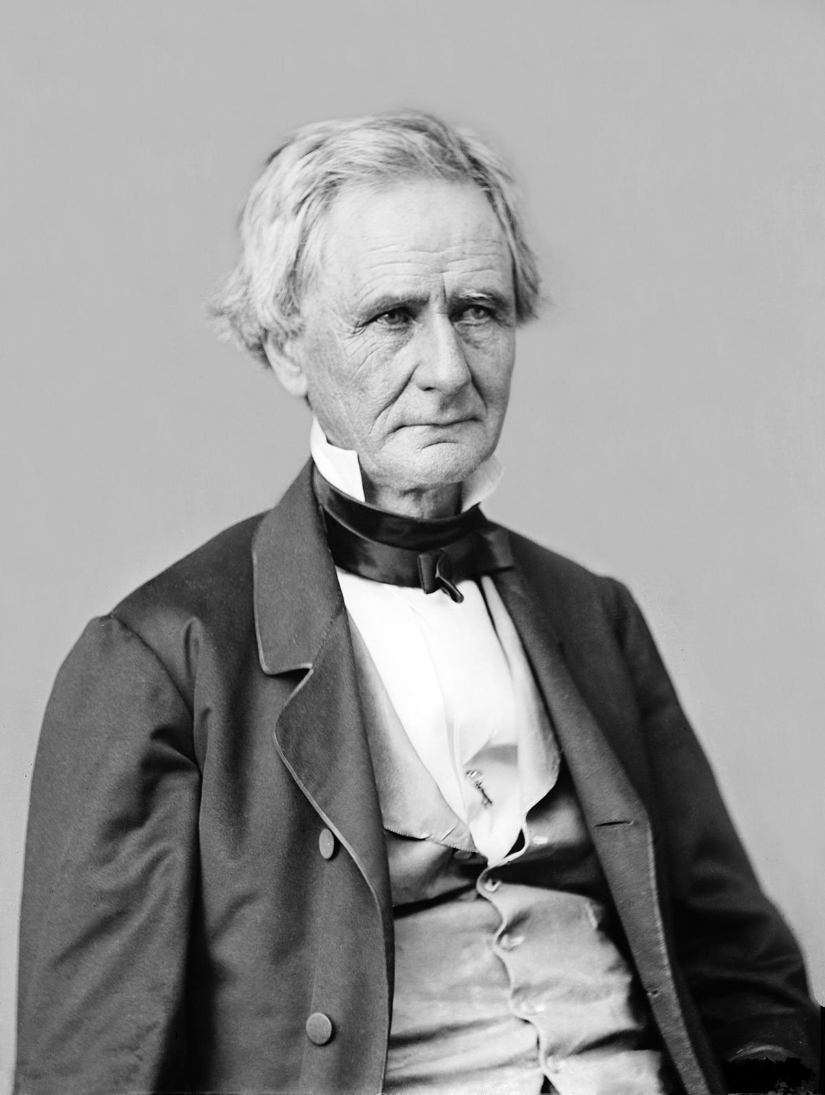 A portrait of Simon Cameron, U.S. Senator and President Lincoln's first Secretary of War.