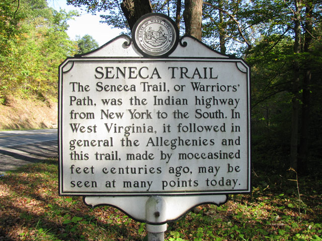 Seneca Trail Historical Marker