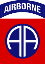 82nd Airborne shoulder Patch