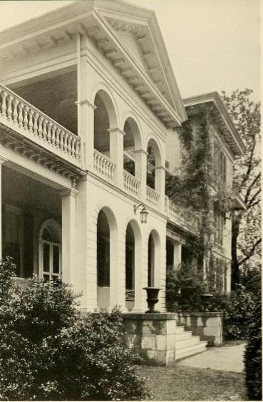 Sweet Briar House facade, c. 1948.