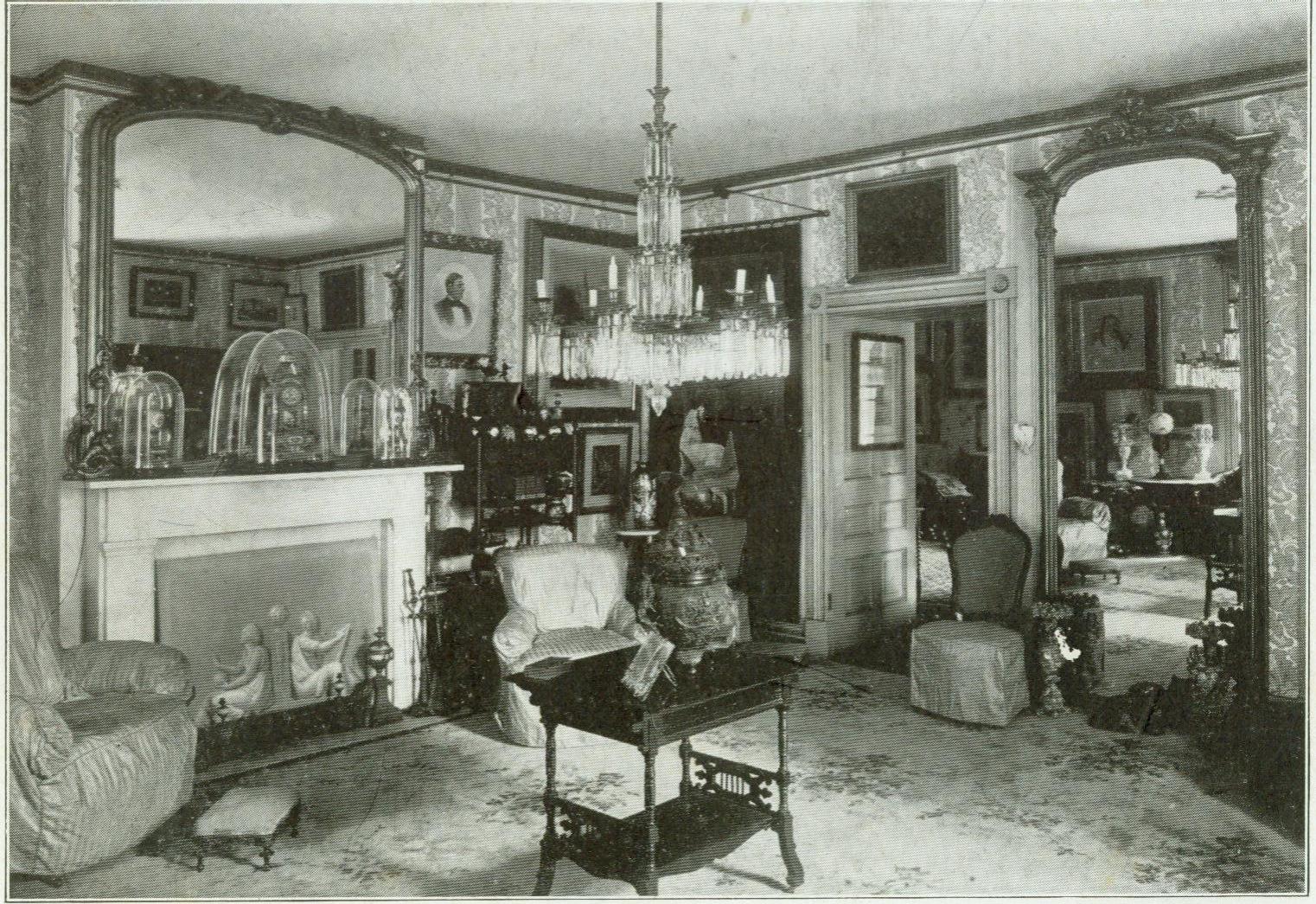 West Parlor, c. 1920s.