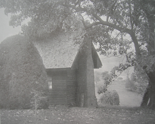 A view of the cabin in 1913.