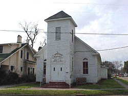Mount Tabor Missionary Baptist Church is one of the buildings in the Campground historic district