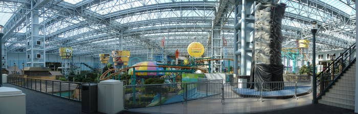 inside Mall of America