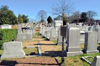 Congregation Ahavath Achim established this burial plot in 1892, a few after it was founded.