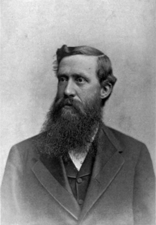 Portrait of Elliott Coues (1842-1899). Unknown photographer, courtesy of Wikimedia Commons (public domain).