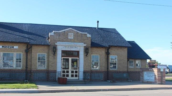 One of two museums operated by the Fort Sedgwick Historical Society, this museum is located in the historic train depot.
