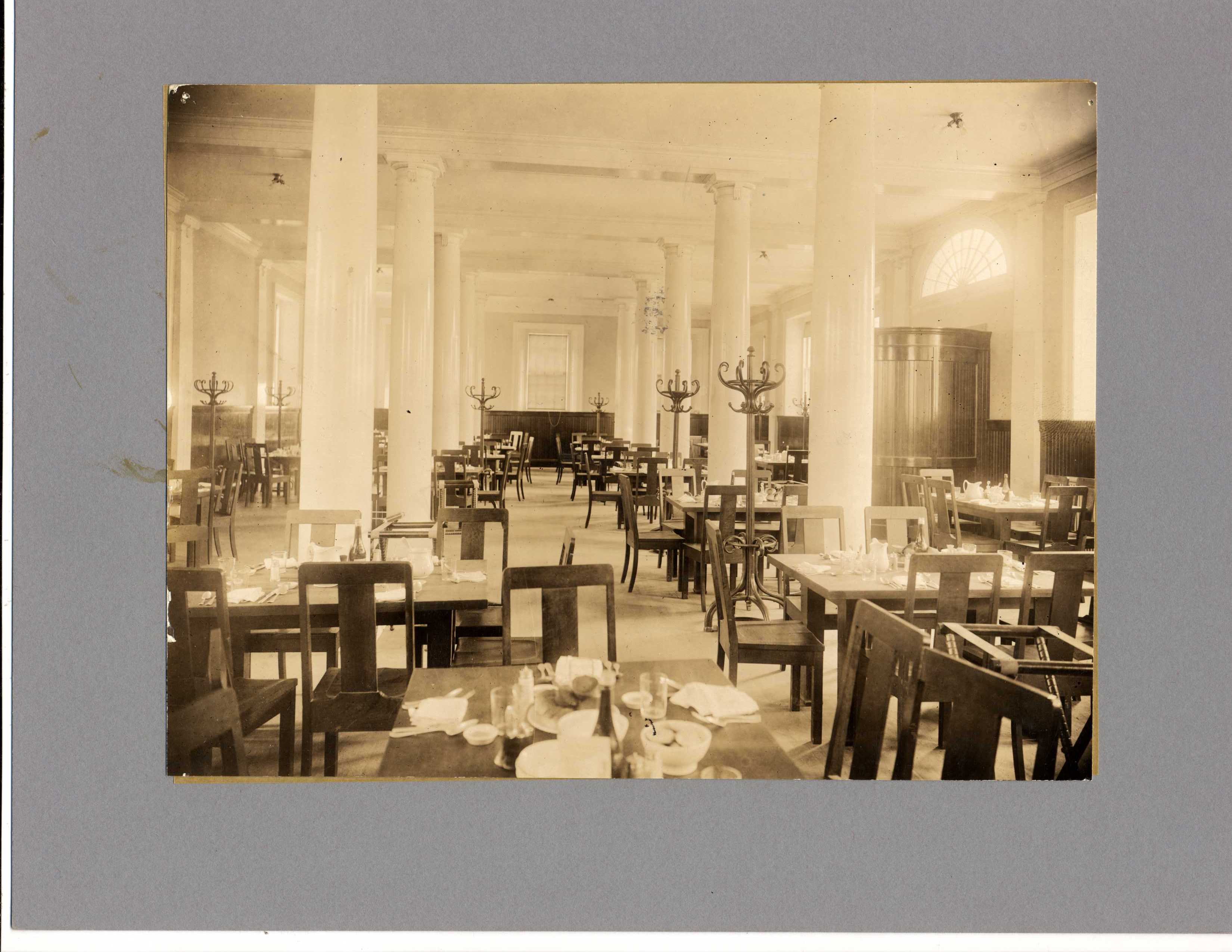 Bulfinch Hall, dining room, main floor
