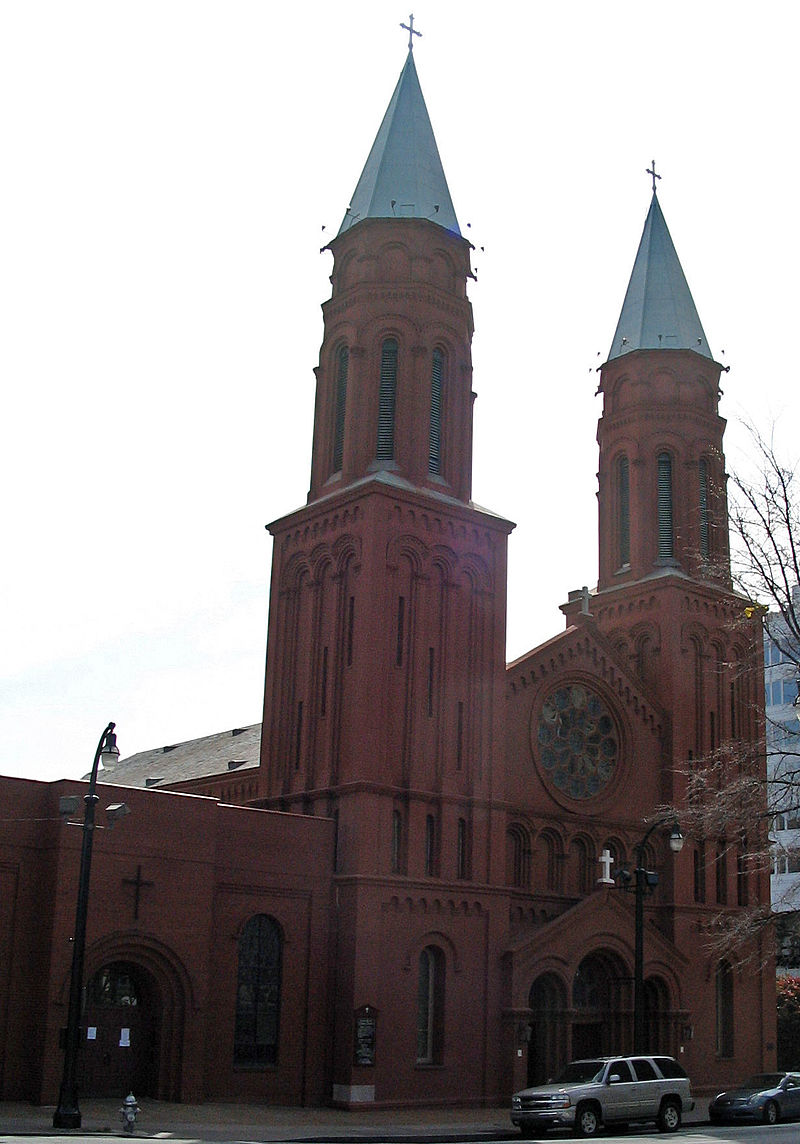 The Basilica of the Sacred Heart of Jesus was built in 1898, and until 2010 was called Sacred Heart Church.