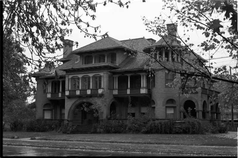 Undated Photograph of the Clark Mansion