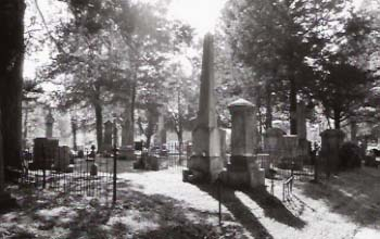 Photograph of Cedar Hill Cemetery (source: DHR, see FN below).