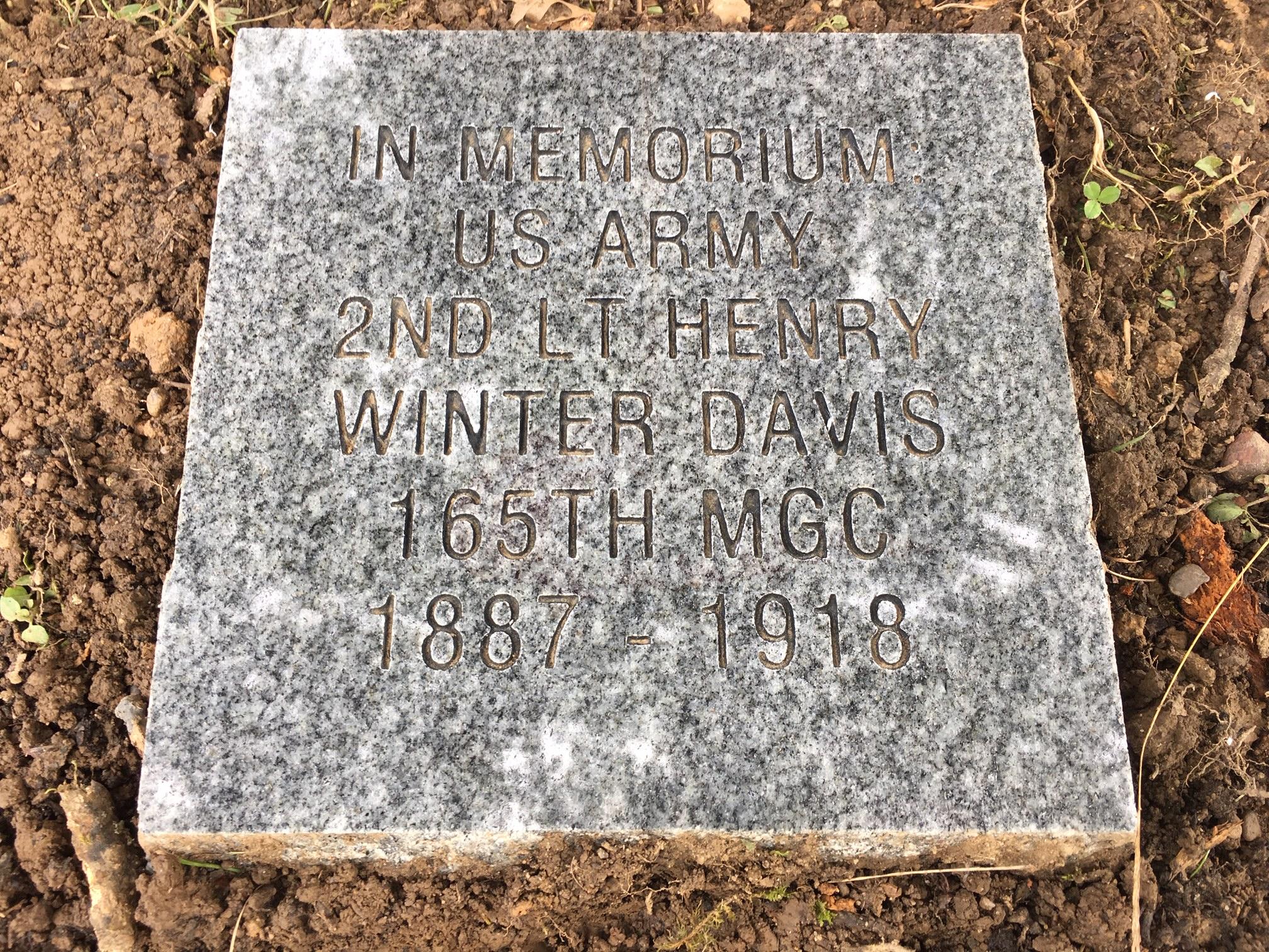 DAR Memorial Stone