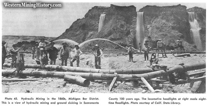 Michigan Bar when it was still a busy mining settlement