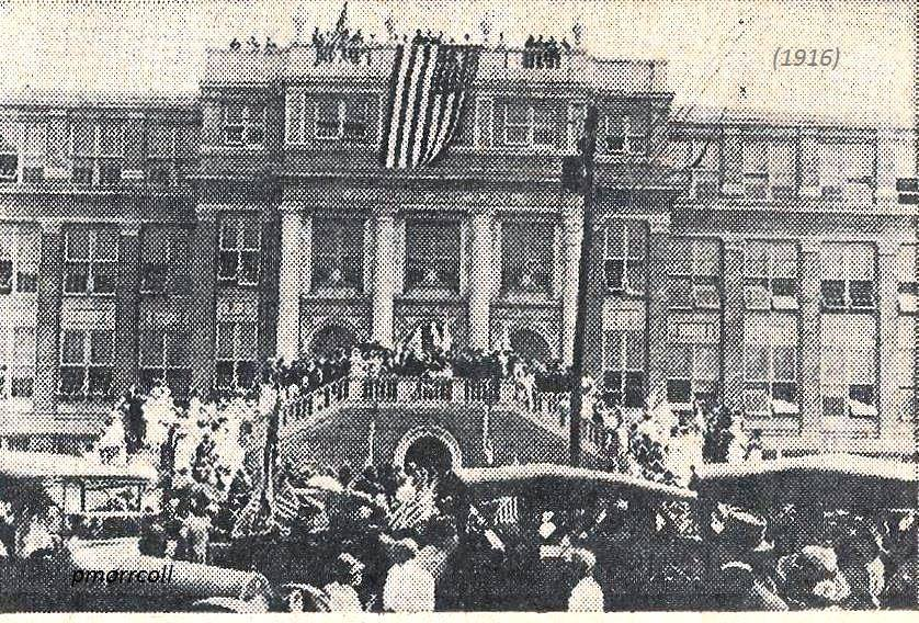 Photo from HHS dedication in 1916