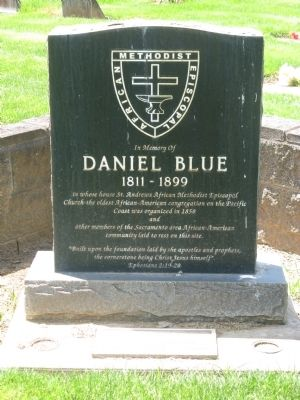 Daniel Blue historic marker
