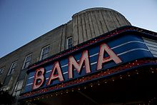 Bama Theater was added to the National Register of Historic Places in 1984