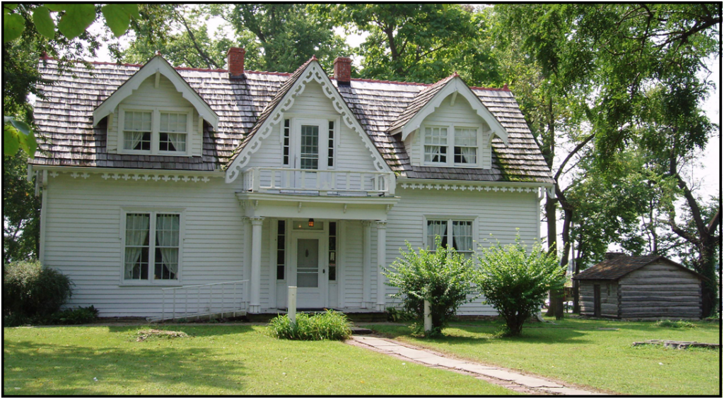 The Rice-Tremonti House, built in 1844