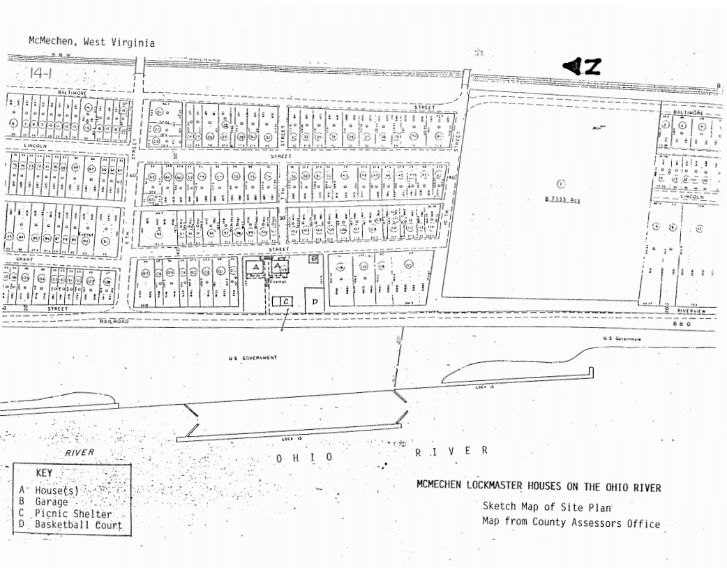 Site Plan from County Assessors Office