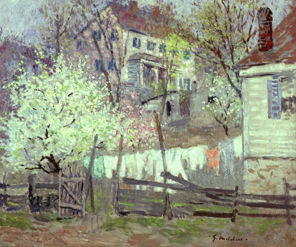 Early Spring Landscape by Gari Melchers