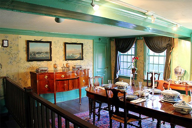 Interior of the House of the Seven Gables (Photo courtesy of New England Today)