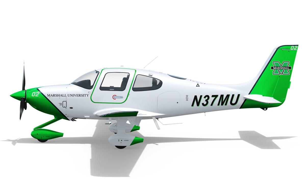 A concept for Marshall University's aircraft